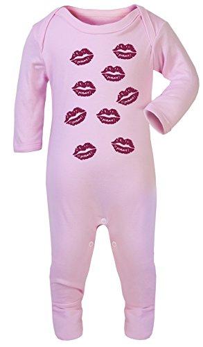 Colour Fashion Pyjama Double Face pour bébé 100% Coton hypoallergénique - Rose - S