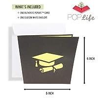 PopLife Cards Diploma di laurea gufo 3d pop-up biglietto di auguri - annuncio grad, laurea, invito cerimonia diploma - pieghe piatte per la spedizione - congratulazioni, carta di inizio, classe del 2 #5