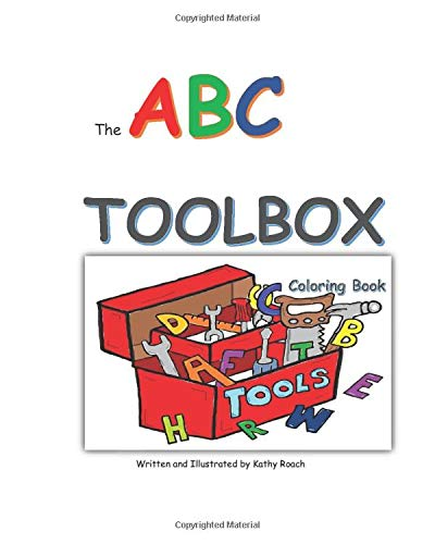 The ABC Toolbox coloring book