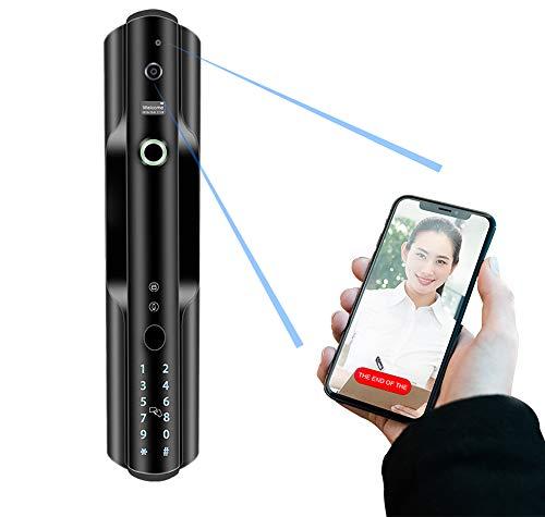 APP Camera Electronic Lock, Smart Lock digitale vingerafdruk deurslot Remote Camera Video Smart Lock RVS Fingerprint Lock