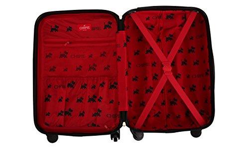 CHIPIE 34600/58 DGR Tranvía Acrilonitrilo butadieno estireno (ABS) Negro bolsa de equipaje - Bolsa de viaje (40 cm, 26 cm, 58 cm, 2,8 kg, Negro)