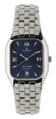 Orologio Edox Les Combes Automatico, Swiss Made (Blu)