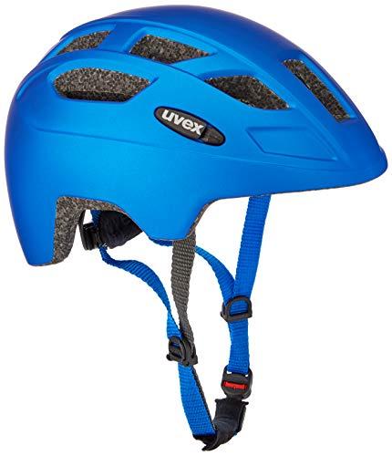 uvex Finale jr. CC, Casco Bicicletta Unisex Bambino, Blue Mat, 51-55 cm