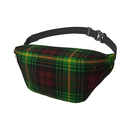 Sport-Brusttasche, Umhängetasche, Schulterrucksack, schottischer Clan, Martin, Schottenkaro, modisch, trendig, für Reisen, Fitnessstudio, Sport, Wandern, Radfahren, für Männer und Frauen