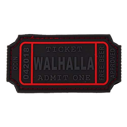 Jackets To Go JTG Walhalla Ticket - Odin Approved, blackops 3D Rubber Patch