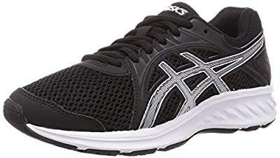 ASICS Men's Jolt 2 Running Shoe, Black/White, 10 UK