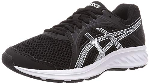 ASICS Mens Jolt 2 Running Shoe, Black/White,44 EU