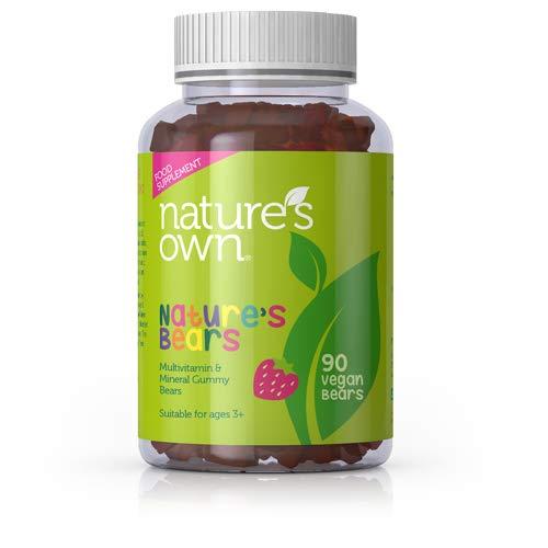 Nature's Own Nature's Bears -90 Vegan Chewable Kids Multivitamins, Gelatine Free
