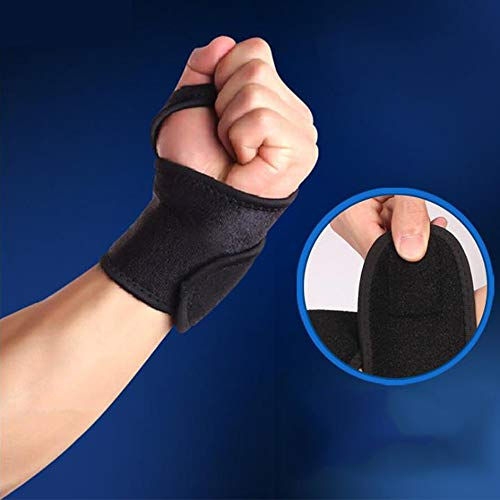 Xinlie Adjustable Wrist Bandage Breathable Wrist Splint Sports Wrist Protector Wrist Wraps Wrist Bandages Support Breathable Wrist for Fitness,Bench Press,Weightlifting One Size Fits Left,Right Hand