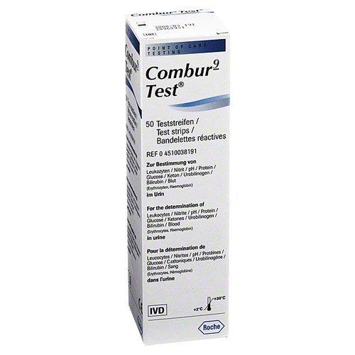 Combur-9-Test (50 T.) by Roche Diagnostics Deutschland GmbH