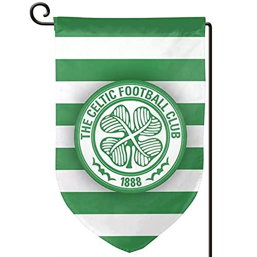 Voglawear Scotland Premiership Celtic Fc Flag Garden Flag Double Sided Bunting for Indoor Outdoor Home Garden Yard Decoration