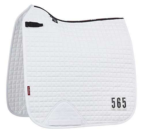 LeMieux Prosport Sattelkissen, Baumwolle, quadratisch XL weiß