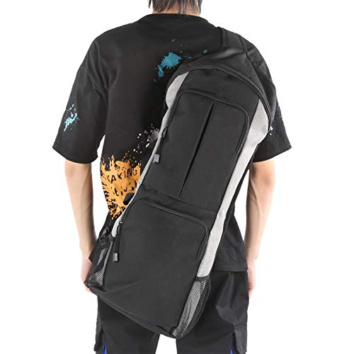 RiToEasysports Bolsa para Esterilla de Yoga Portador multifunción para Esterilla de Yoga con múltiples Bolsillos y Cremallera de fácil Acceso para la mayoría de Las esterillas de tamaño