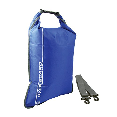 OverBoard Sac plat imperméable 30 litres Bleu (Import Royaume Uni)
