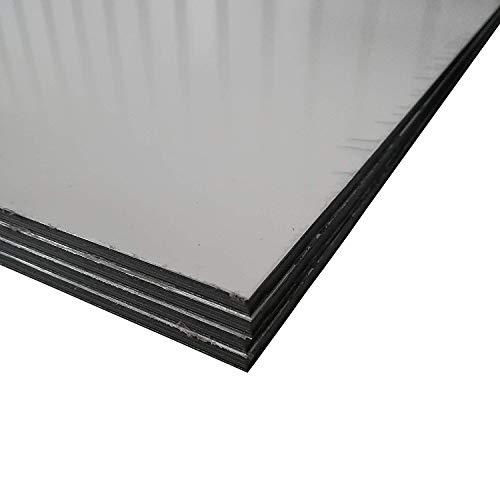 Alu-Verbundplatten Aluverbundplatte in verschiedenen Größen Weiss 3 mm stark Sandwich Platte (750x500mm)
