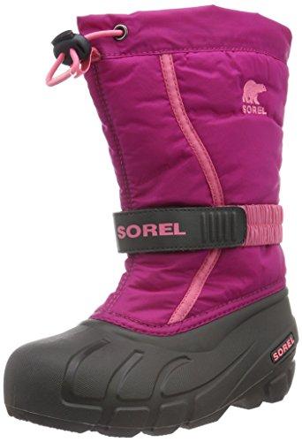 Sorel Kinder Youth Flurry Stiefel, pink (deep blush/tropic pink), Größe: 37