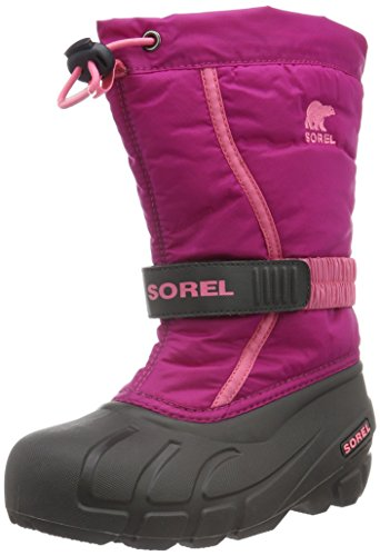 Sorel Kinder Youth Flurry Stiefel, pink (deep blush/tropic pink), Größe: 34