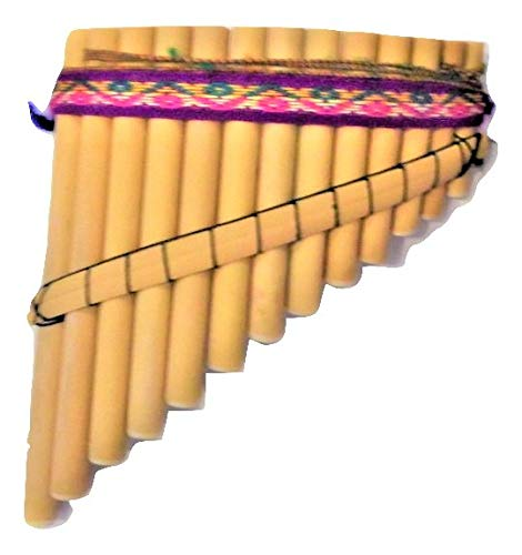 Toy Bamboo Flute Curved 13 Pipes Not For Playing