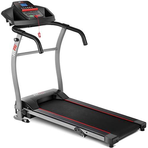 Fitfiu Fitness MC-100 - Tapis Roulant max. 10 km/h, Pieghevole e Compatto, 900 W