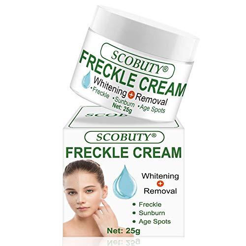 Freckle Cream,Freckle Remover,Dark Spot Corrector,Skin Lightening Cream,Bleaching Cream for Face Freckles Age Spot Melasma