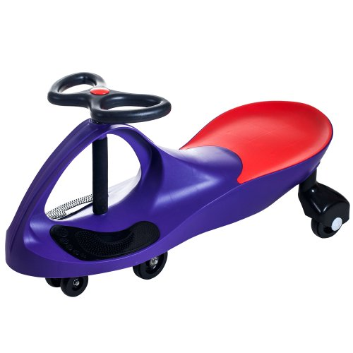 Ride on Toy Wiggle Car by Lil' Rider – Ride on Toys for Boys and Girls, 2 year old and up, (Purple)