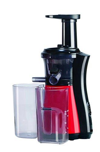 Bajaj Platini VJ01 150-Watt Vitamin Slow Juicer (Cherry Red/Black)
