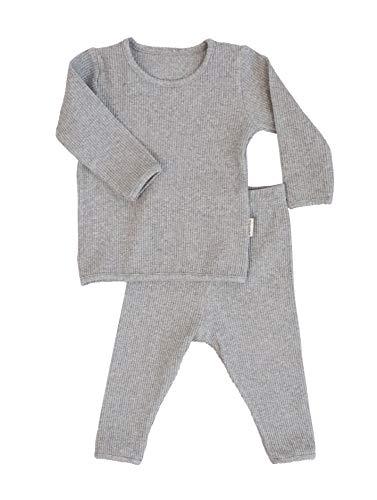 Boys pjs & Girls pjs Loungewear Cotton girls pyjamas Ribbed Baby Pjs...