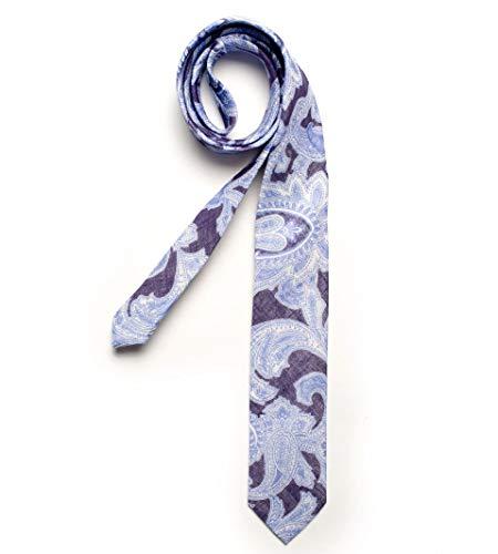 DIGEL Krawatte Gatsby in Blauem Paisley-Muster, Größe: