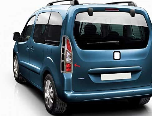 Berlingo Facelift 2012 – 2018 ABS cromado luz trasera cubierta 2 piezas