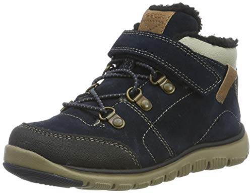Geox Jungen J XUNDAY BOY B ABX A Chukka Boots, Blau (Navy/Beige C0670), 38 EU