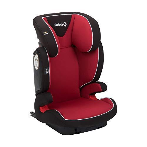 Safety 1st Road Fix Seggiolino Auto ISOFIX 15-36 kg, Gruppo 2/3, Unisex Bambini, dai 3.5 Anni ai 12 Anni, Full Red (Rosso)