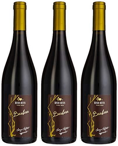 Bisio Devis - Vino Barbera, senza Solfiti Aggiunti - confezione da 3 bottiglia da 750 ml