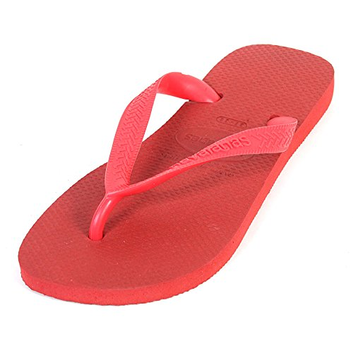 Havaianas Unisex-Erwachsene Top Zehentrenner, Rot (Ruby Red), 43/44 EU