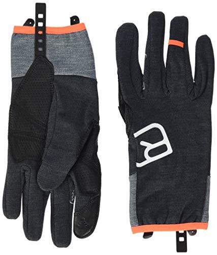 ORTOVOX Herren Fleece Light Handschuhe, Dark Grey Blend, XL