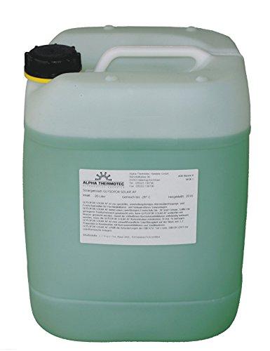 Solarflüssigkeit 20 l grün Gemisch bis -28° C Frostschutz, Solarfluid, Solarliquid, Wärmeträgermedium