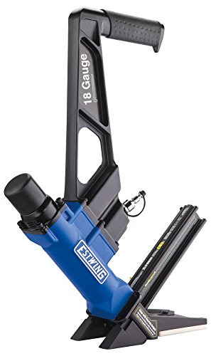 Buy Discount Estwing EF18GLCN Pneumatic 18-Gauge 1-3/4 L-Cleat Flooring Nailer Ergonomic and Lightw...