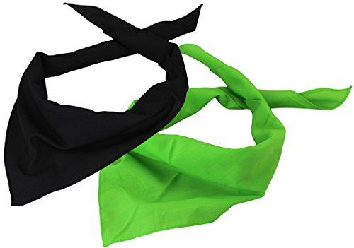 Alex Flittner Designs Triángulo Bandana//Pañuelo en asequible Pack de 2