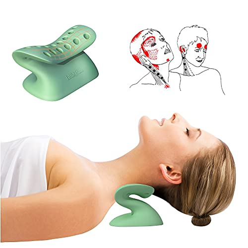 LittleMum Occipital Release Tool Cervical Traction Orthotic Chiropractic Neck Alignment Device for...