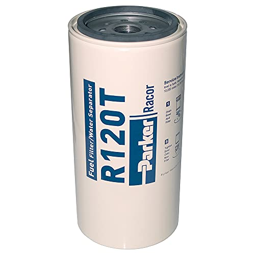 Parker R120T Racor Replacement Fuel Filter/Water Separator