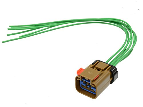 Michigan Motorsports Wiring Harness Pigtail Connector Kit Repairs or Replaces Power Window Motor, Wiper Motor, Tail Lamp Circuit Board Fits Chrysler Dodge & Jeep (Replaces Mopar 5013984AA, 5013984AB)