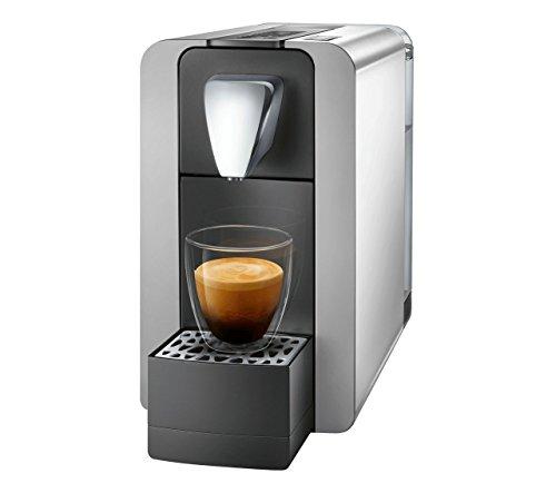 Cremesso/delizio Compact One II Shiny Silver–Capsule di Caffè e Tè e Caffè. Estremamente veloce tempo di riscaldamento