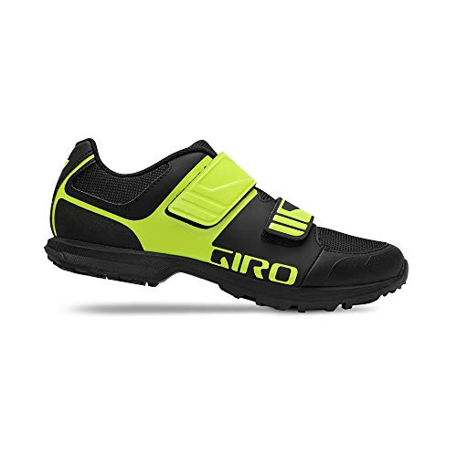 Giro Unisex– Erwachsene Berm E-Bike City/Urban Freizeit Schuhe, Black/Citron Green, 39
