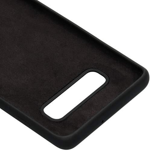 Black Rock Schutzhülle Fitness (für Samsung Galaxy S10+, Perfekter Schutz, aus Silikon, ideal für Outdoor und/oder Sport, 180° Schutz) schwarz