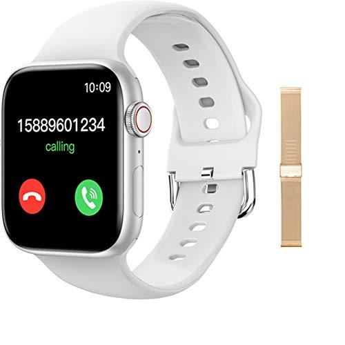 LJMG T800 Smartwatch para hombres y mujeres para IOS Android DIY Dial reloj inteligente 2021 para Android IOS 1.72 pulgadas Bluetooth Call,A