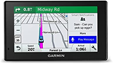 Garmin DriveSmart 51 NA LMT-S with Lifetime Maps/Traffic, Live Parking, Bluetooth,WiFi, Smart Notifications, Voice Activation, Driver Alerts, TripAdvisor, Foursquare (Renewed)