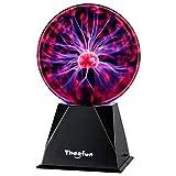 Plasma Ball, 6 Inch Plasma Lamp, Touch & Sound...