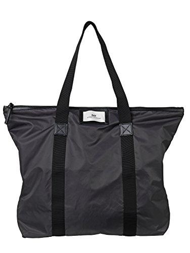 Day et Damen Shopper Gweneth Bag in Dunkelgrau Fast schwarz aus strapazierfähigem wasserabweisendem Nylon - 2000475001a