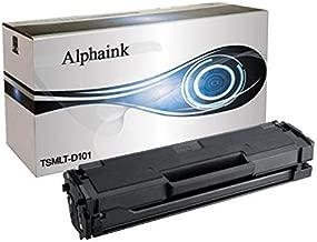 Alphaink AI-MLT-D101 Toner compatibile per Samsung AI-MLT-D101S ML-2160 ML-2161 ML-2162 ML-2165 ML-2165W ML-2168 SCX-3400 SCX-3400F SCX-3401 SCX-3405 SCX-3405F SCX-3405FW SCX-3405W SF760P SF765P 1500 copie al 5% di copertura