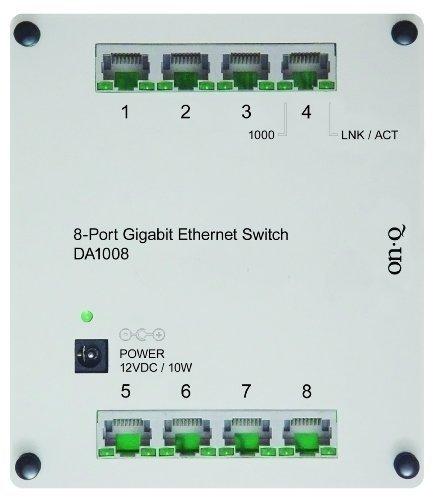 On-Q / Legrand DA1008 8-Port Gigabit Switch by On-Q/Legrand