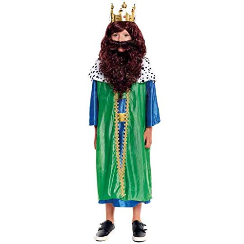Disfraz Rey Mago Gaspar niño Infantil para Navidad 10-12 años (+ Tallas)